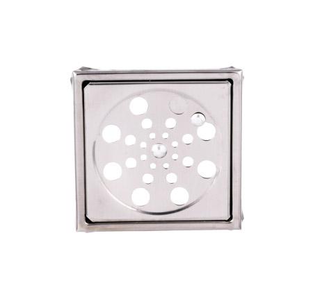 2110 – Ralo Quadrado Inox 10x10cm